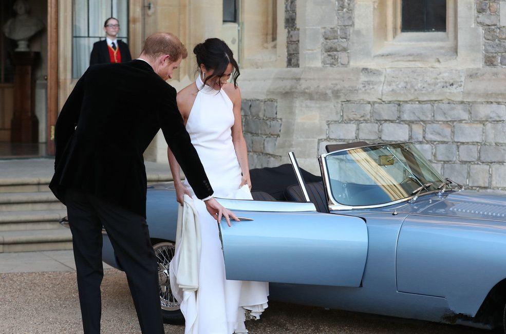 Modest White Mermaid Wedding Dresses 2019 Prince Harry
