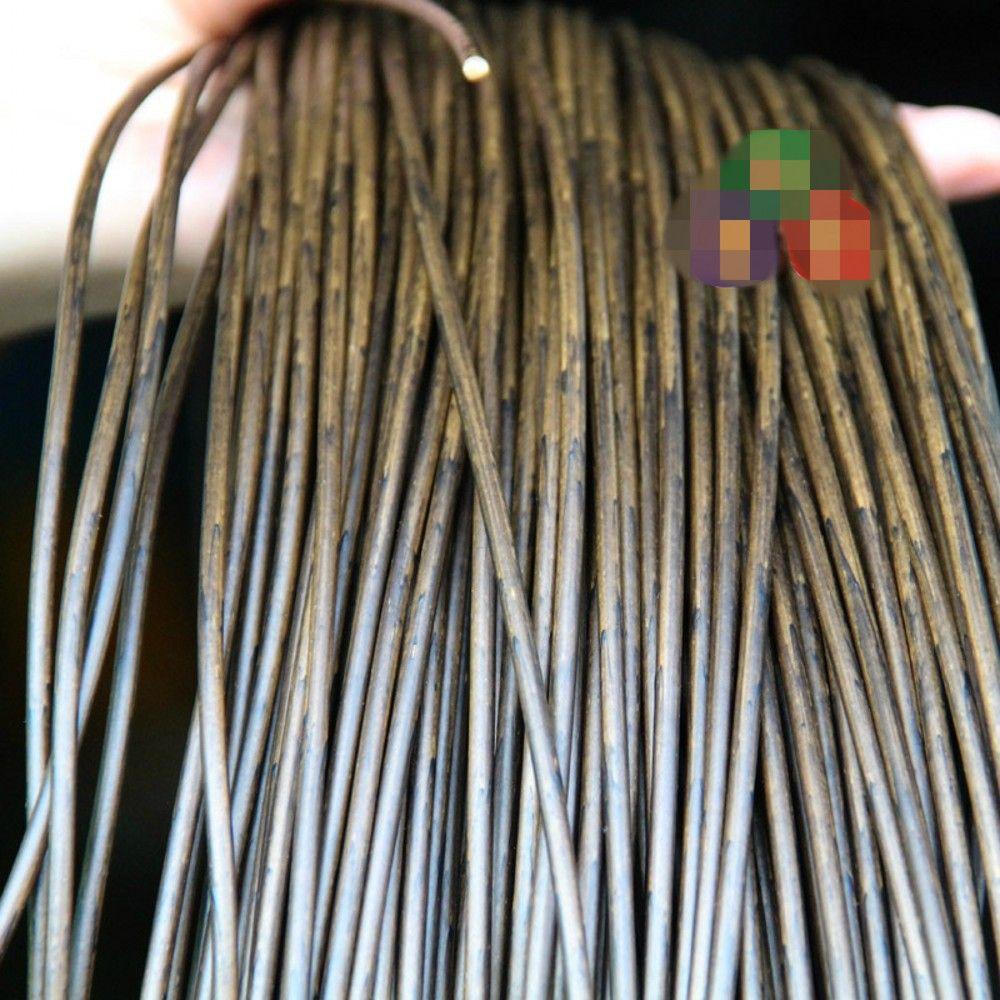 acheter 500g 70m gradient de couleur de grain de bois rond en rotin synthetique rotin pe tissage rotin plastique materiau pour chaise tricot et