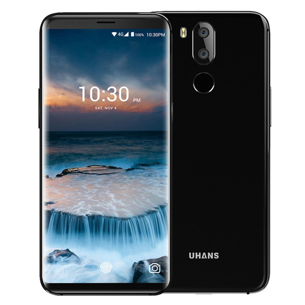 UHANS I8 4G Smartphone 5.7 Inch 18:9 HD+Display Android 7.0 Octa Core 4GB RAM 64GB ROM 3500mAh Dual Back Camera