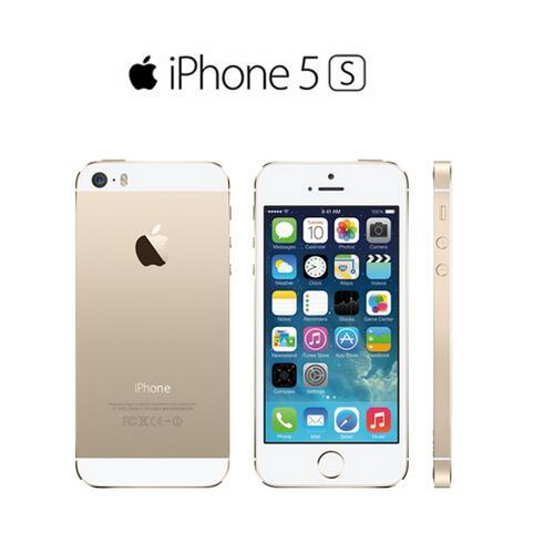 Original Unlocked Apple iPhone 5S without fingerprint refurbished iphone 5s phone 16GB / 32GB / 64GB ios with
