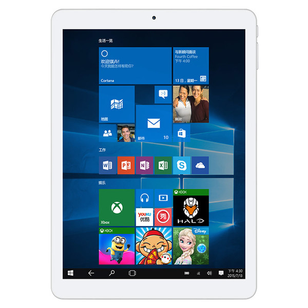 Wholesale- Teclast X98 Plus II Tablet PC 9.7 inch Windows 10 + Android 5.1 Intel Cherry Trail Z8300 Quad Core 1.44GHz 4GB RAM 64GB ROM