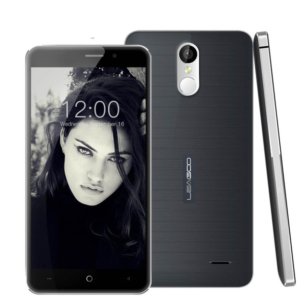 Leagoo M5 Plus 4G FDD Cell Phone 5.5Inch IPS Screen 2G RAM 16G ROM Android6.0 13.0MP Fingerprint Unlocked