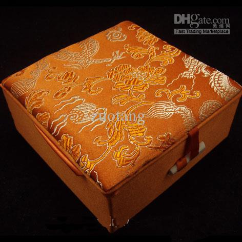 Large Decorative Gift Boxes Lids High Quality Silk