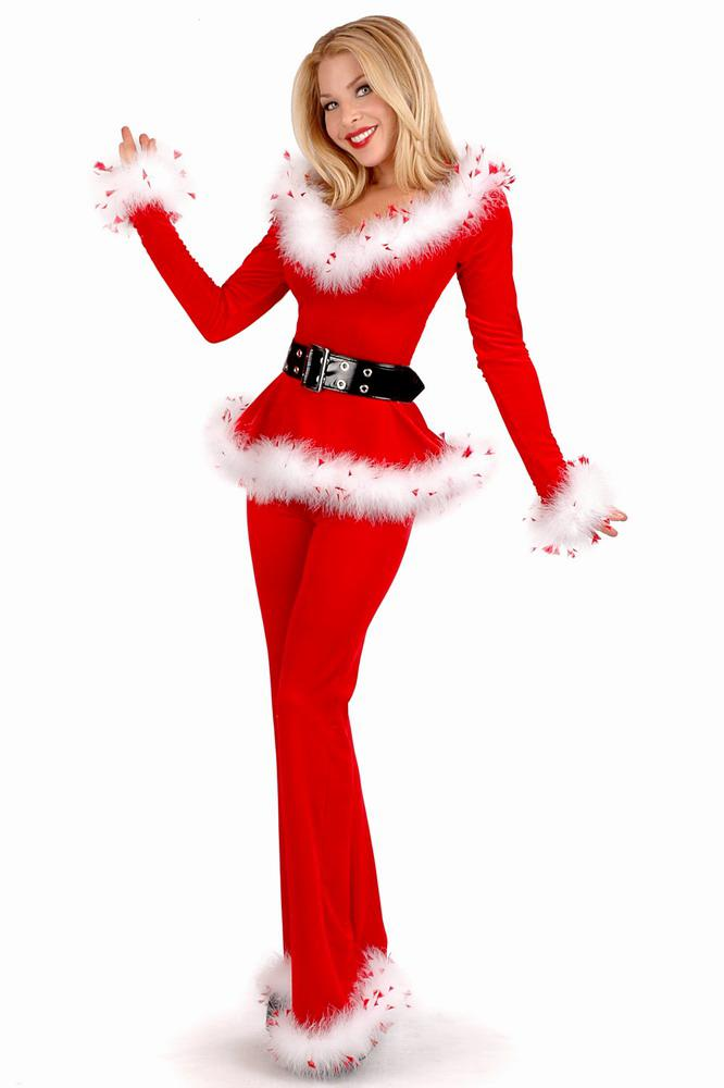 2019 Sexy Santa Outfit Ladies Christmas Party Costumes