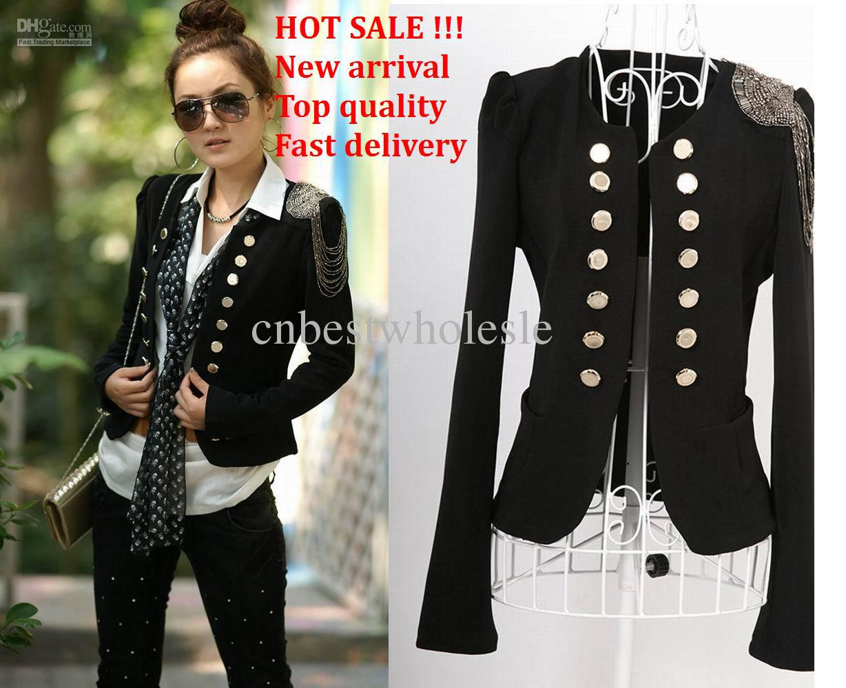 Fashion Women Lady Suit New Korean Women Double Breasted