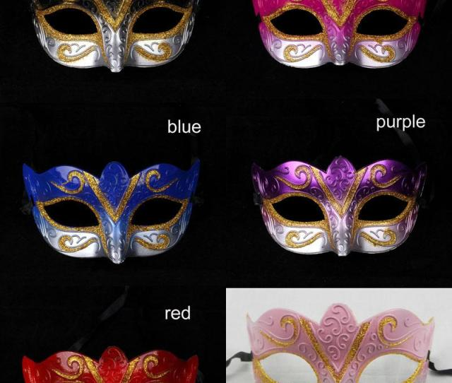 On Sale Party Masks Venetian Masquerade Mask Halloween Mask Sexy Carnival Dance Mask Cosplay Fancy Wedding