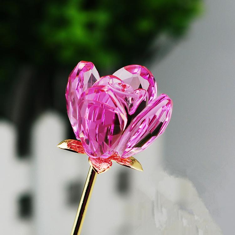 Crystal Long Stem Flowers