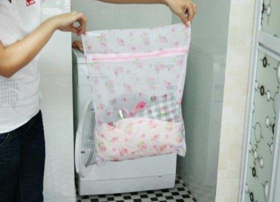 Printing Of Fine Mesh Laundry Bag,Anti Wrap Clothing Care