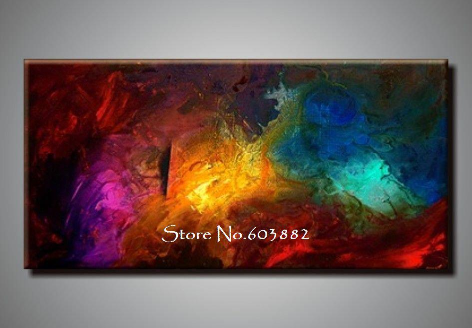 Wholesale 100% Handpainted Large Canvas Wall Art High