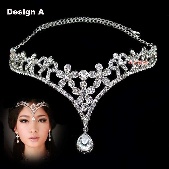 Best Quality Fashion Crystal Tiara Crown Hair Accessories