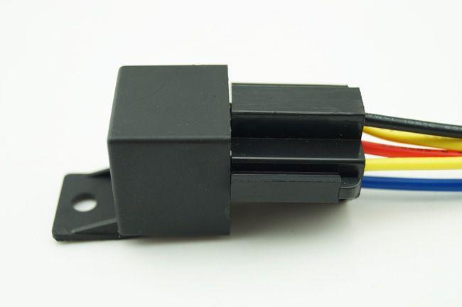 5-pin 12V DC 30/40A Automotive Auto Relay & Relay Socket