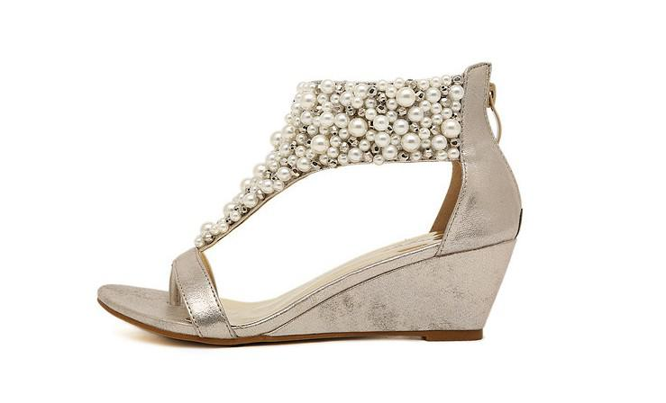 Flat Wedding Shoes Bride
