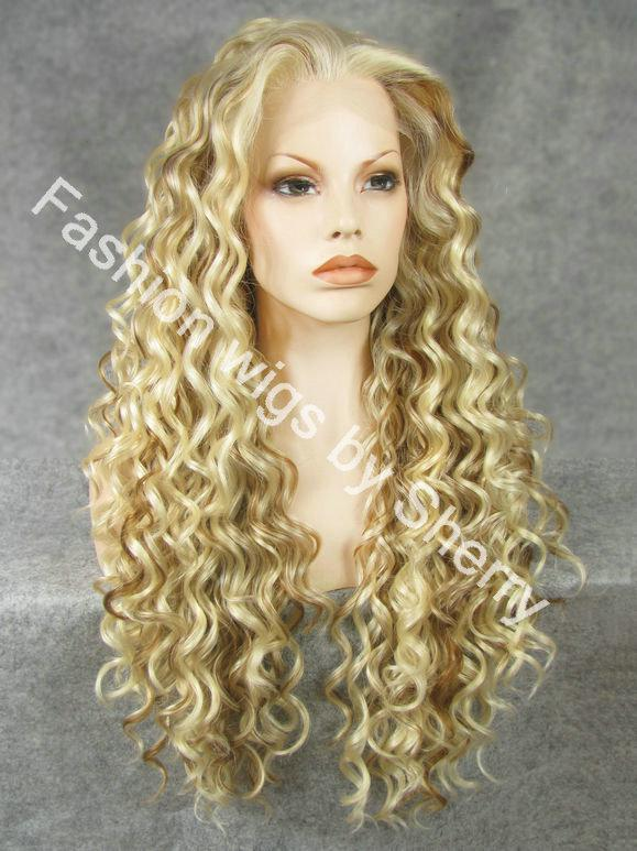26 Extra Long 61327 Mix Blonde Heat Friendly Synthetic