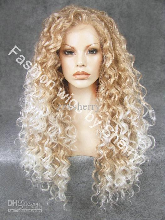 26 Extra Long 27hy1001 Blonde Tip White Heat Friendly
