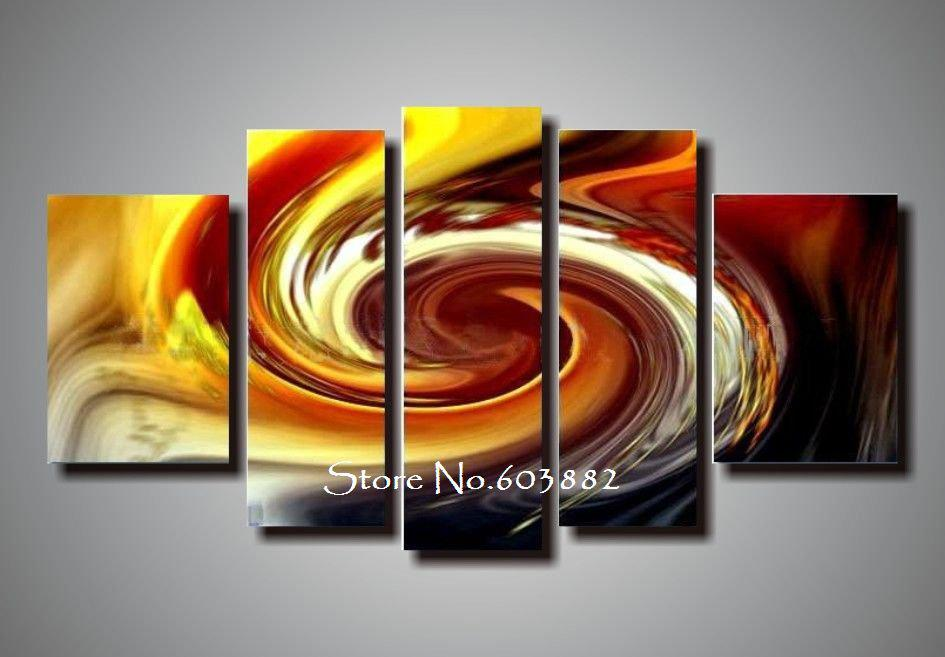 Online Cheap 100% Handpainted Acrylic Abstract Canvas