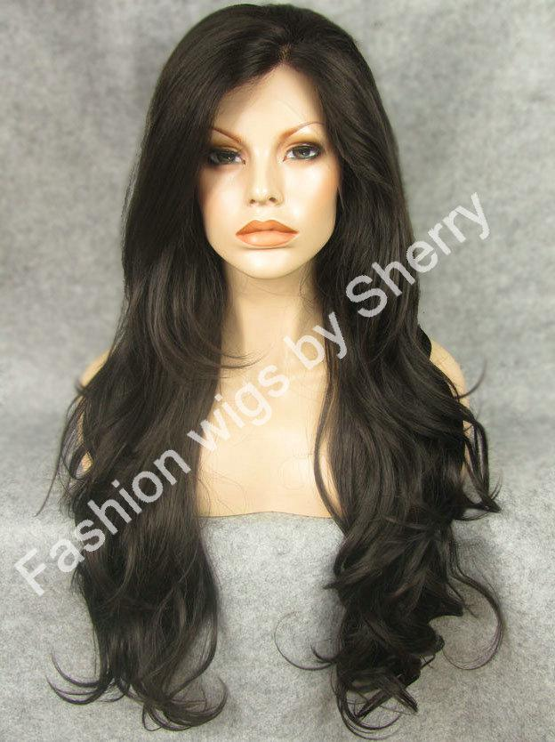 26 Extra Long 26 Mix Brown Wavy Heat Safe Synthetic Hair