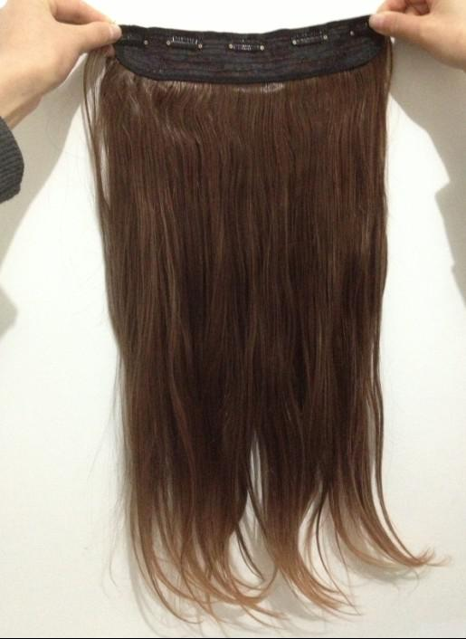 Womens Fashion Clip In Hair Extensions Synthetic Clips