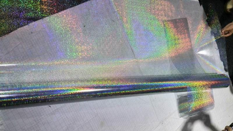 2018 New Rainbow Glitter Effect Vinyl Wrap Car Wrapping