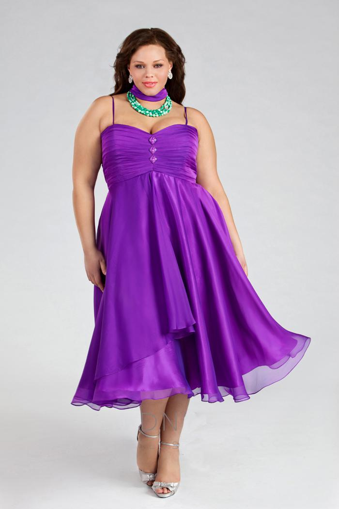 The Gallery For Gt Plus Size Purple Bridesmaid Dresses