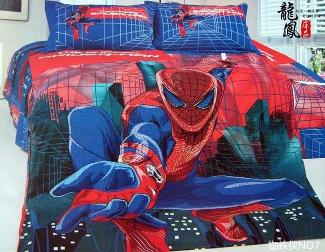 Spiderman Comforter Bedding Set Twin Full Queen Cartoon