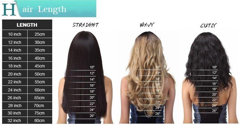Dhl 100 Virgin Human Hair Queen Hair Products 16 26 1gS
