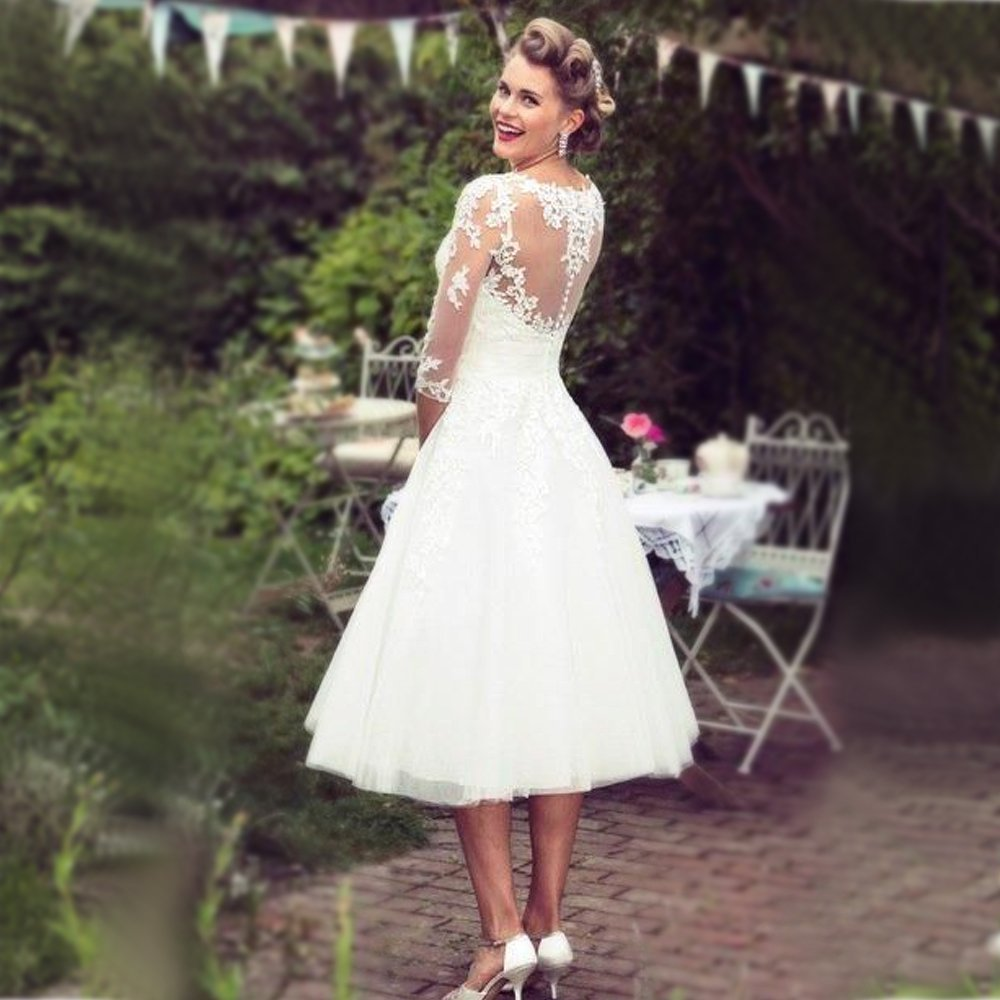 Registry Office Wedding Dress 3