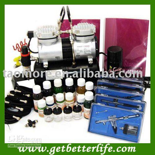 Airbrush tattoo kits tattoo pictures online for Airbrush tattoo kit