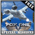 تنزيل لعبة الطائرات الحربية FoxOne Special Missions Free APK للاندرويد