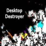 تحميل لعبة تكسير الشاشة Desktop Destroyer للكمبيوتر