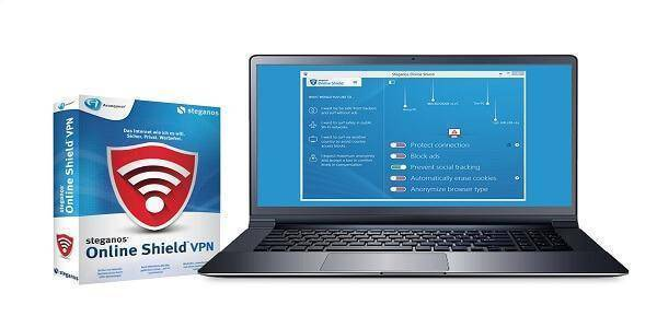 برنامج Steganos Online Shield VPN