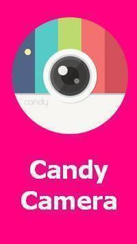 تنزيل Candy Camera -سيلفي، كاميرا الجمال، محرر الصور APK للاندرويد