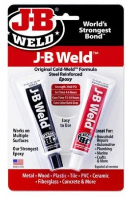 J-B WELD™ TWIN TUBE – 2 OZ