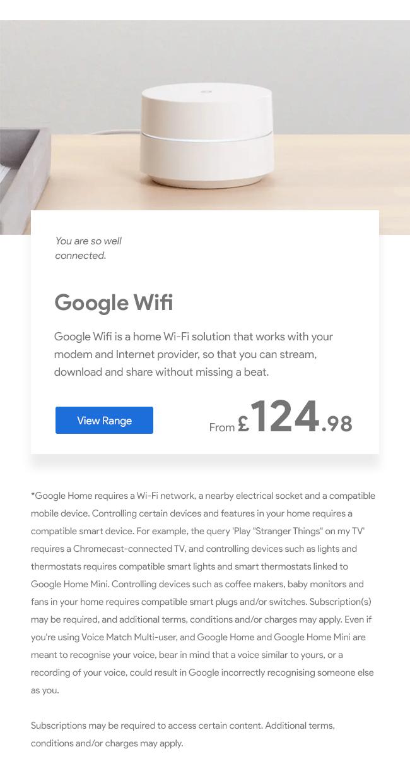 Google WiFi AC1200
