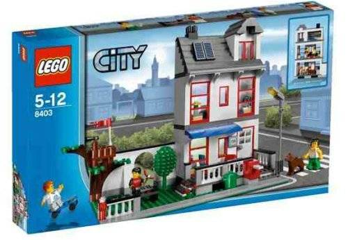 Sell LEGO City Set  8403 City House id 19658663  from PT  Monzuani     Sell LEGO City Set  8403 City House