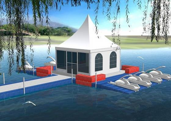Floating House Floating Tent Platformid3493974 Product Details View Floating House