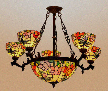 Tiffany Chandelier Lamp Image