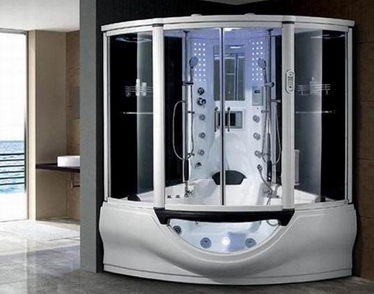 Computer Controlled Jacuzzi Steam Shower Roomid6816625