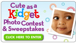 Click here to enter the Cute as a Kidget Photo Contest & Sweepstakes