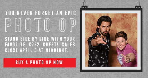 You never forget an Epic Photo Op