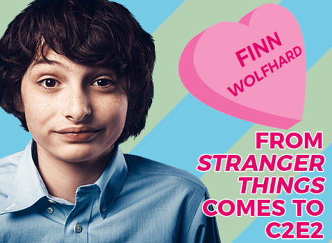 Finn Wolfhard From Stranger Things Comes to C2E2