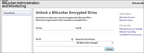 BitLocker Admin & Monitoring