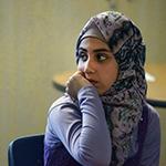 muslim student in school