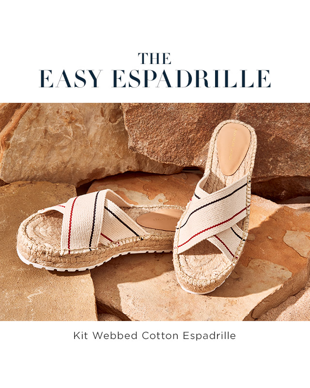 The Easy Espadrille