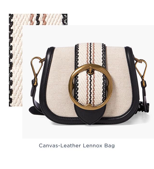 Canvas-Leather Lennox Bag