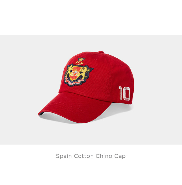 Spain Cotton Chino Cap