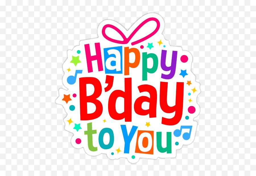Happy Birthday Stickers Facebook Copy Paste Stickers Happy Birthday Sticker Whatsapp Emoji Happy Birthday Emoji Texts Free Transparent Emoji Emojipng Com