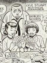 Bill Elder EC Comics Subscription Ad Illustration Original Art (EC, c. 1954)