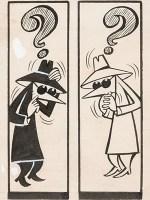 Antonio Prohias MAD Magazine Complete 1-Page Story 'Spy vs. Spy' Original Art (EC, c. 1960s)