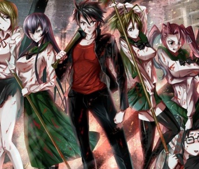Highschool Of The Dead Is A Japanese Manga Series Written By Daisuke Sato And