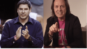 T-Mobile CEO John Legere and Sprint CEO Marcelo Claure